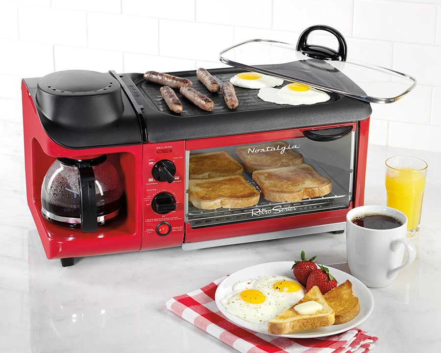 Holiday home accessories - 3-in-1 breakfast maker