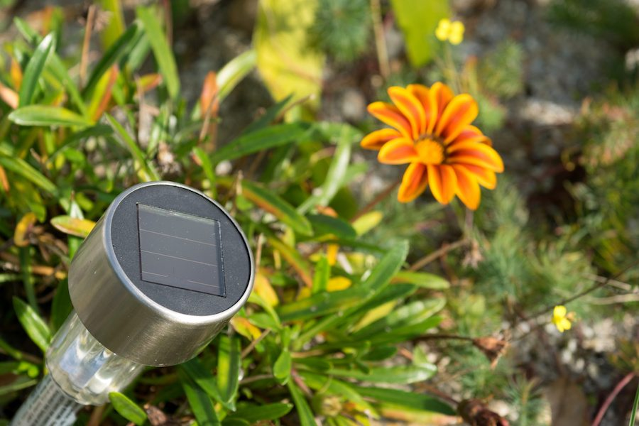Holiday home accessories - Solar lights in your garden