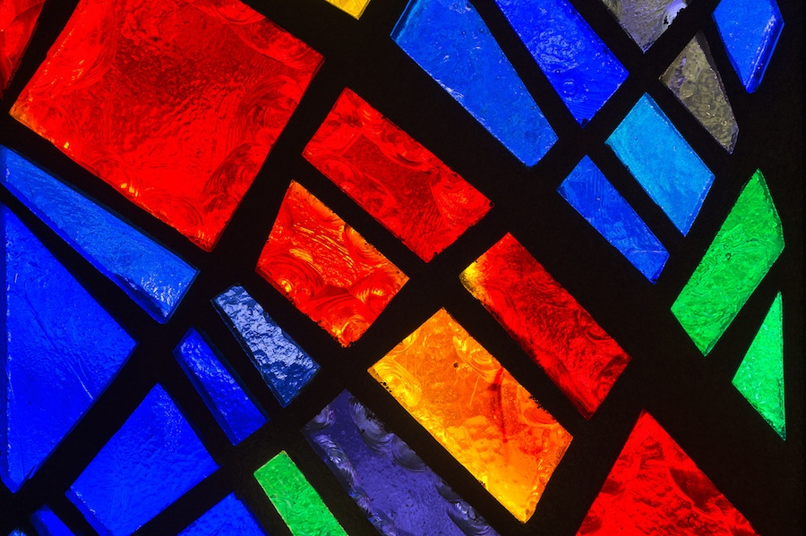 Holiday home accessories - Stained glass